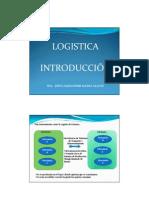 1 Introducción Logística