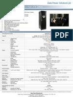 E500 Series UPS Datasheet