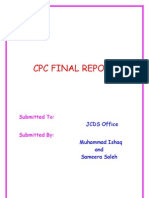 Final Report Ready