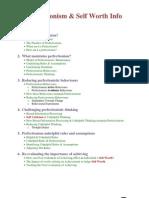 Perfectionism Info