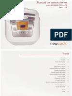 Instrucciones Robot 5L NewCook