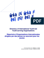 UNESCO Who is Who - Directory of International Youth-Led Youth-Serving Organisations