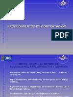 Procedimientos de Contratacion (Ley Estatal y Federal)