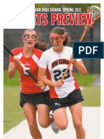 New Canaan High School Spring 2013 Sports Preview