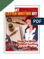 INSTANTLETTER WRITINGKIT