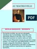 Unidade 2 - Teóricos do absolutismo - Maquiavel e Hobbes