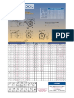 Metric Frame Chart