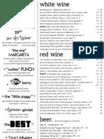 Jax Kitchen Wine Menu!