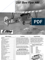 Fokker DVII 250 Manual