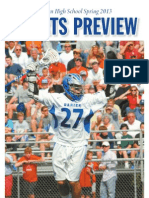 Darien High School Sports Preview - Spring 2013