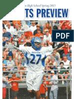 Darien High School Sports Preview - Spring 2013