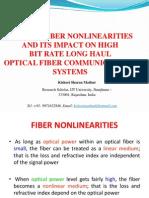 Fiber Nonlinearities.pptx