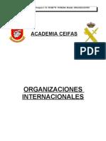 15 organizaciones internacionales