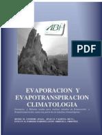 Evaporación y Evapotranspiración. Climatologia