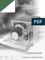 Hinari DW002 compact dishwasher