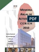 Memoria Cenieh 2010