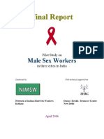 Male sex worker in India