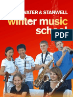 Sunwater and Stanwell Winter Music School 2009 Form