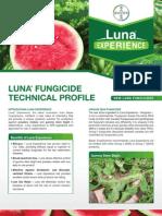 Luna Watermelon Fungicide - 2012 Product Guide