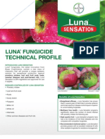 Luna Apple Fungicide - 2012 Product Guide