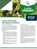 Luna Wine Grape Fungicide - 2012 Product Guide