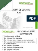 Presentación Rendición de Cuentas 2013 adaptar