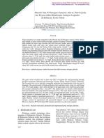 Analisis Kadar Phosfat Dan N-Nitrogen (Amonia, Nitrat, Nitrit) Pada