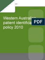 Patient Identification Australia