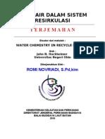 Kimia Air Dalam Sistem Resirkulasi