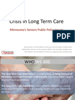 Crisis in Long Term Care