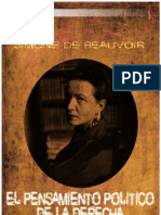 Beauvoiur, Simone - El Pensamiento Politico de La Derecha