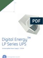 lp series - lp11 - lp31 - lp31t- lp33 ce listed 3-30kva - brochure - gea-d1016-gb-y06m07