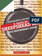 A Taste of Sheepshead Bay Restaurant Guide 2012