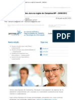 Requisitos Para Emprego JAVA