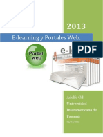 E-Learning y Portales Web