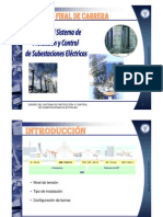 Diseño del Sistema de Proteccion y Control de Subestaciones  Electricas