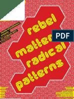 Rebel Matters Radical Patterns_presentazione Ita