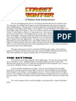 Street Fighter - d20 Modern Martial Arts