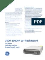 gt series 1000-3000 va rackmount ups