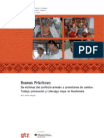GTZ, De Victimas a Promotores, 2009