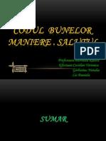 Codul Bunelor Maniere.salutul