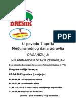 Međ. dan zdravlja Rudine 2013