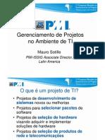 Gerenciamento de Projetos No Ambiente TI