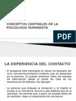 Conceptos Centrales de La Psicologia Humanista