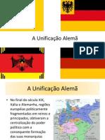 UNIFICAÃO ALEMÃ