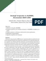 Strategii Terapeutice in ALIARDS.recomandari SRATI 2009