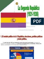 Tema 10. La Segunda República.