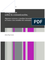 Imaginarios Sobre La Comunicacion Marta Rizo