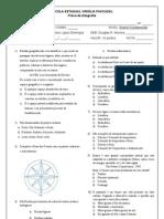 Prova Diagnóstica 7ano