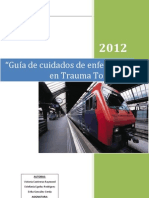 Guia de Cuidados de Enfermeria en Trauma Toracico